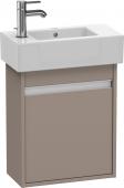 Duravit Ketho - Vanity unit 450 x 550 x 225 mm with 1 door & hinges right basalt matt