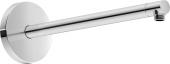 Duravit Universal - Brausearm L385 rund schwarz matt