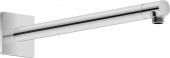 Duravit Universal - Brausearm L352 eckig schwarz matt