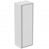 Ideal Standard Connect Air - Halbhochschrank 1 Tür 1200 x 300 x 400 mm weiß glänzend / matt
