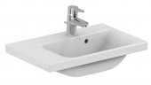 Ideal Standard Connect Space - Washbasin for Furniture 600x380mm with 1 tap hole with overflow white with IdealPlus