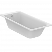 Ideal Standard Tonic II - Körperformwanne mit Ablauf mit Füller 1700 x 750 x 490 mm weiß
