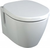 Ideal Standard Connect - Wall-mounted washdown toilet without flushing rim white without IdealPlus