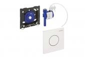 Geberit HyTouch - Urinalsteuerung mit pneumatischer Spülauslösung Betätigungsplate Sigma01 weiß
