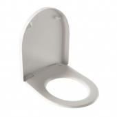 Geberit iCon - WC-Sitz mit Deckel weiß Scharniereedelstahl