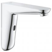Grohe Euroeco CE - Infrarot-Elektronik für Waschtisch-Wandarmatur ohne Mischung Masszeichnung