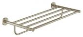 Grohe Essentials - Multi-Badetuchhalter 604 mm nickel gebürstet