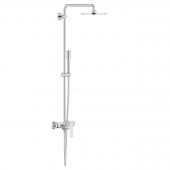 Grohe Euphoria - XXL Eurodisc C System 210 Duschsystem Einhandmischer für Wandmontage