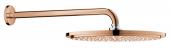 Grohe Rainshower Cosmopolitan - Kopfbrauseset 310 Brausearm 380 mm warm sunset