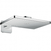 Hansgrohe Axor - Kopfbrause 460 2jet chrom mit Brausearm SoftCube