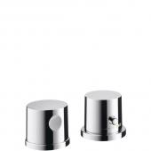 Hansgrohe Axor Uno² - 2-Loch Wannenrandarmatur mit Thermostat