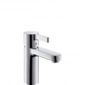 Hansgrohe Metris - Einhebel-Waschtischmischer LowFlow 3,5 l/min mit Zugstangen-Ablaufgarnitur