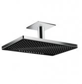 Hansgrohe Rainmaker Select - Kopfbrause 460 2jet Deckenmontage schwarz / chrom