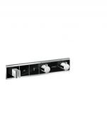Hansgrohe RainSelect - Thermostat Unterputz Fertigset 2 Verbraucher schwarz / chrom