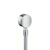Hansgrohe Fixfit - Schlauchanschluß S DN15 chrom mit Rückflussverhinderer u.Kugelgelenk