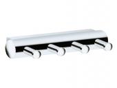Keuco Plan - Single hook silver - anodized / aluminium