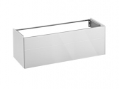 Keuco Royal Reflex - Vanity unit front pull-out white / white