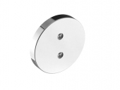 Keuco Plan - Wall plate 17649, load capacity for make-up mirror, chromed