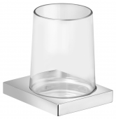 Keuco Edition 11 - Tumbler Holder chrome / clear