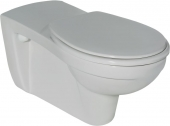 Ideal Standard Contour - Wall Hung Washdown WC with flushing rim white with IdealPlus