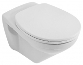 Villeroy & Boch O.novo - Wall-mounted washdown toilet without DirectFlush white without CeramicPlus