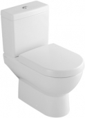 Villeroy & Boch Subway - Floorstanding Washdown Toilet Combination for close-coupled Cistern without DirectFlush white without CeramicPlus