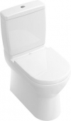 Villeroy & Boch O.novo - Floorstanding washdown toilet Combination for close-coupled Cistern without DirectFlush white without CeramicPlus