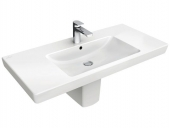 Villeroy & Boch Subway 2.0 - Washbasin for Furniture 800x470 white with CeramicPlus
