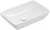 Villeroy & Boch Venticello - Halbeinbau-Aufsatzwaschtisch weiß alpin ceramicplus