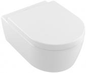 Villeroy & Boch Avento - WC-Combi-Pack wandhängend mit CeramicPlus weiß