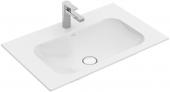 Villeroy & Boch Finion - Schrankwaschtisch 800 x 500 mm ohne Überlauf stone white mit CeramicPlus