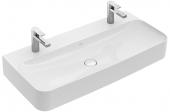 Villeroy & Boch Finion - Waschtisch 4168 1000 x 470 mm ohne Überlauf weiß alpin CeramicPlus