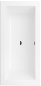 Villeroy & Boch Legato - Badewanne 1800 x 800 mm stone white