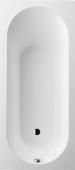 Villeroy & Boch Oberon - Badewanne Rechteck 180 x 800 mm weiß alpin