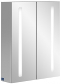 Villeroy & Boch MyView14+ - Spiegelschrank 600 x 750 x 173 mm mit LED-Beleuchtung verspiegelt