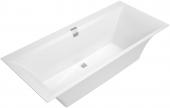 Villeroy & Boch Squaro Edge 12 rectangular bath white, rectangular interior shape