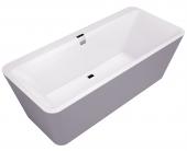 Villeroy & Boch Squaro Edge 12 - Badewanne inkl. Schürze 1800 x 800 mm weiß alpin