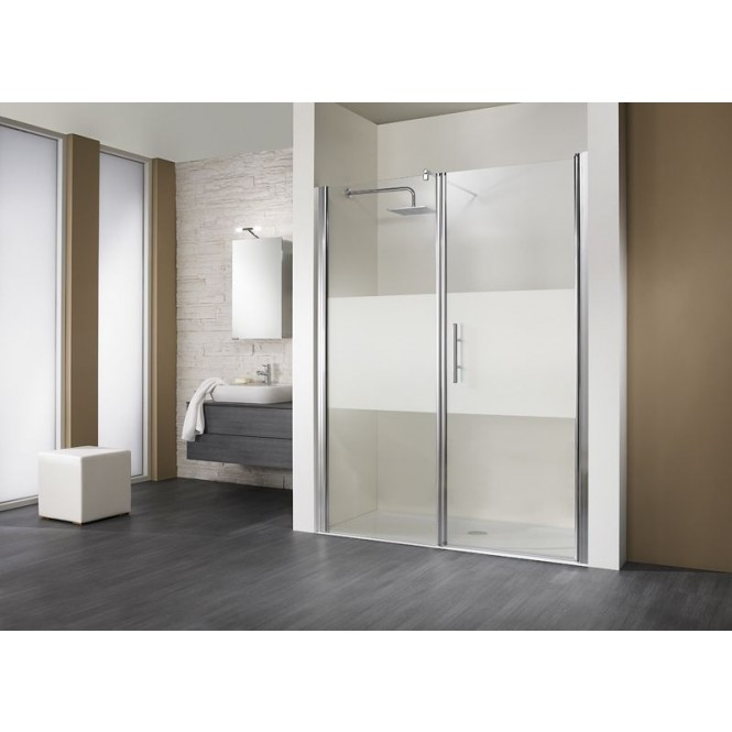 HSK - Room niche 2-piece, 95 standard colors 1200 x 1850 mm, 50 ESG clear bright