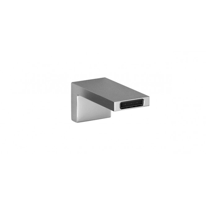 Dornbracht Deque - Wall-mounted basin spout  wall-mounted with projection 125 mm without waste set platinum matt