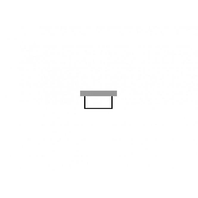 Duravit Vero - Furniture panel 1680x690mm