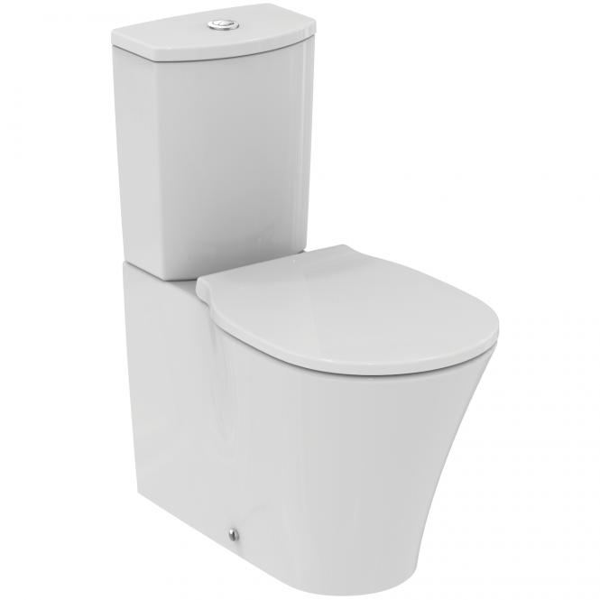 Ideal Standard Connect Air - Stand-TWC-Kombi AquaBlade Abgang waagrecht 360 x 660 x 780 mm weiß