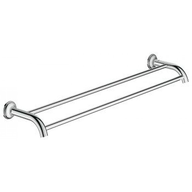 grohe-essentials-authentic-double-towel-bar
