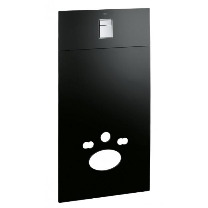 Grohe Skate Cosmopolitan - Glas-Designmodul für Rapid SL und Uniset velvet black