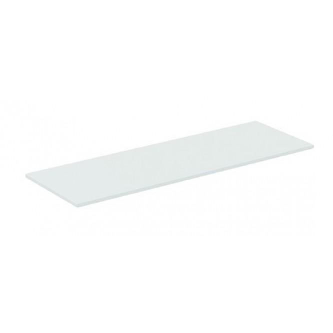 Ideal Standard Connect Air - Holzkonsole für Unterschrank 1304 x 442 x 18 mm weiß glänzend / matt