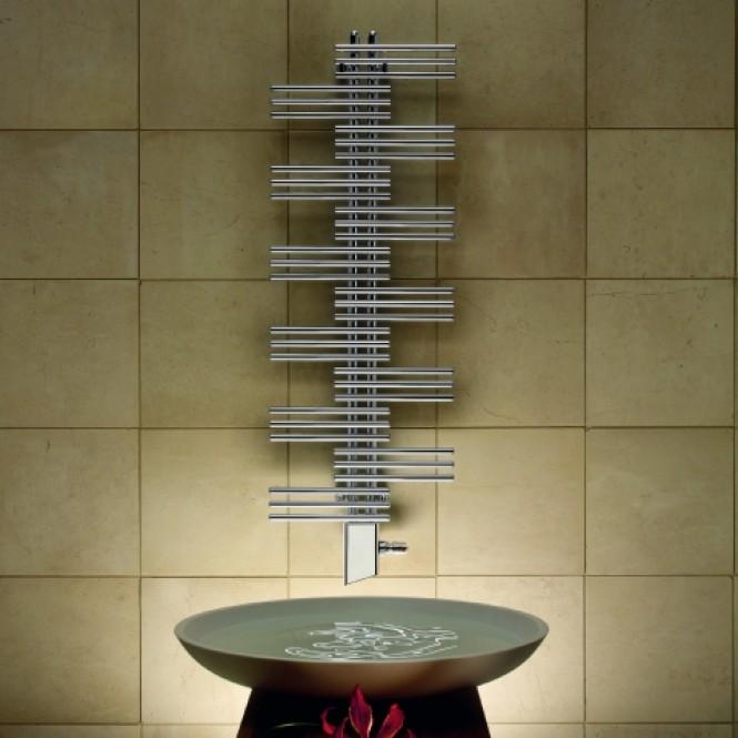 Zehnder Yucca - Design-Heizkörper YS-090-050 RAL 9016 weiß