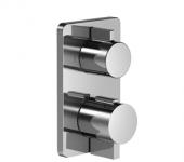 Dornbracht Lulu - Unterputz-Thermostat mit 2-Wege-Mengenregulierung platin matt