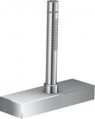 Axor Edge - Wannenrandset mit sBox und Handbrause chrom