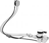 Duravit - Mehrpreis für Ab-und Überlaufgarnitur mit Drehgriff matt Bodenzulauf 52mm chrom