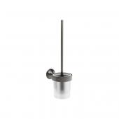Dornbracht Vaia - Toiletten-Bürstengarnitur Wandmodell dark platinum matt