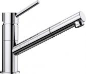 Blanco Kano-S - Küchenarmatur metallische Oberfläche Hochdruck chrom